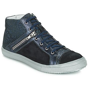 Sapatos Rapariga Botas GBB KAMI Marinho