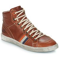 Sapatos Rapaz Sapatilhas de cano-alto GBB ANGELO Castanho