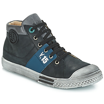 Sapatos Rapaz Sapatilhas de cano-alto GBB RUFINO Preto