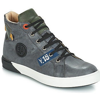 Sapatos Rapaz Sapatilhas de cano-alto GBB SILVIO Cinza