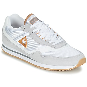 Sapatos Mulher Sapatilhas Le Coq Sportif LOUISET SUEDE/NYLON Cinza / Branco
