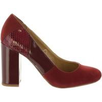 Sapatos Mulher Escarpim Maria Mare 61295 Rojo