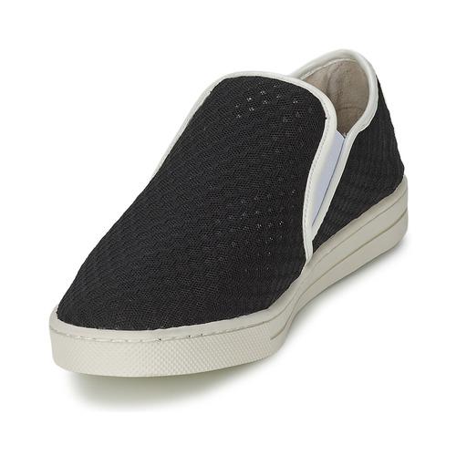 Mellow Yellow Sajoging Preto - Entrega Gratuita Sapatos Slip On Mulher 3240