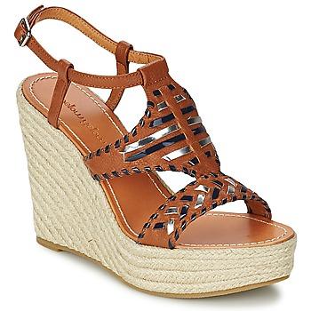 Sapatos Mulher Sandálias Mellow Yellow SAKE Camel