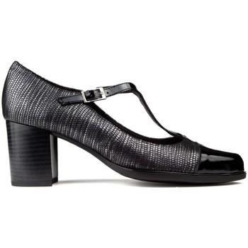 Sapatos Mulher Escarpim Kroc SAPATOS DE DE COURO DE preto