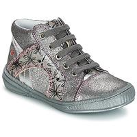 Sapatos Rapariga Botas baixas GBB ROSETTA Cinza / Prata - estampado