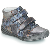 Sapatos Rapariga Botas baixas GBB ROXANE Cinza / Azul