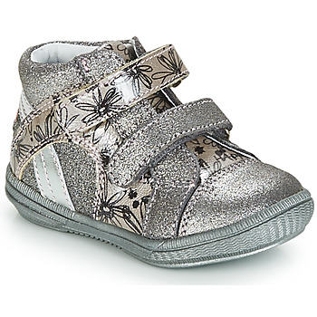 Sapatos Rapariga Botas baixas GBB ROXANE Cinza / Prata - estampado