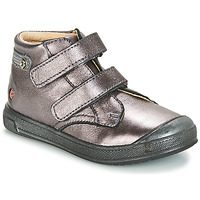 Sapatos Rapariga Sapatilhas de cano-alto GBB RACHEL Violeta / Metalizado