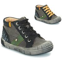Sapatos Rapaz Botas GBB REINOLD Cinzento-preto