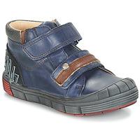 Sapatos Rapaz Botas baixas GBB REMI Azul