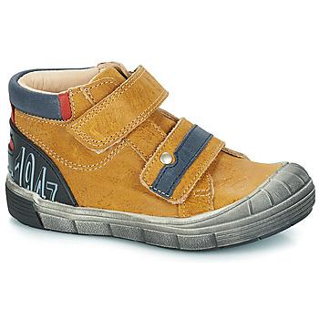 Sapatos Rapaz Botas baixas GBB REMI Camel