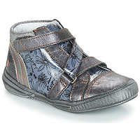 Sapatos Rapariga Botas baixas GBB RADEGONDE Cinza / Azul