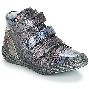 Sapatos Rapariga Botas baixas GBB RAFAELE Azul / Cinza