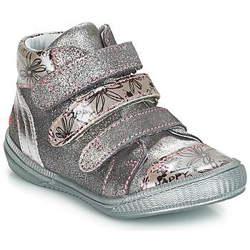 Sapatos Rapariga Botas baixas GBB RAFAELE Prata