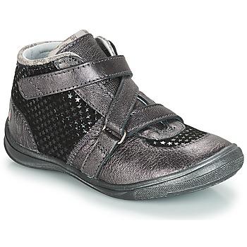 Sapatos Rapariga Botas baixas GBB RIQUETTE Cinza / Preto
