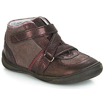 Sapatos Rapariga Botas baixas GBB RIQUETTE Castanho / Bronze