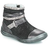 Sapatos Rapariga Botas baixas GBB ROCHELLE Grsi / Preto
