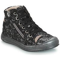 Sapatos Rapariga Sapatilhas de cano-alto GBB DESTINY Preto