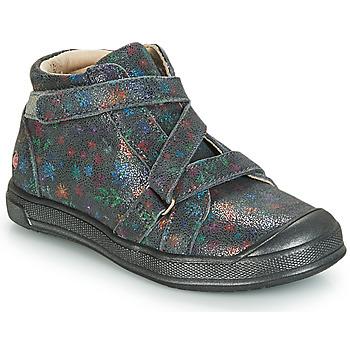 Sapatos Rapariga Sapatilhas de cano-alto GBB NADEGE Cinza