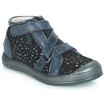 Sapatos Rapariga Sapatilhas de cano-alto GBB NADEGE Azul / Preto