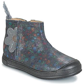 Sapatos Rapariga Botas baixas GBB ROMANE Cinza