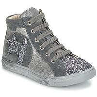 Sapatos Rapariga Sapatilhas de cano-alto GBB MARTA Cinza