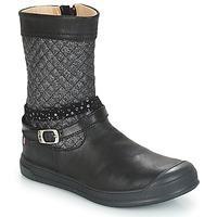 Sapatos Rapariga Botas GBB ROLANDE Preto