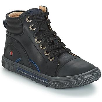 Sapatos Rapaz Sapatilhas de cano-alto GBB RALPH Preto