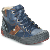 Sapatos Rapaz Sapatilhas de cano-alto GBB RENZO Azul