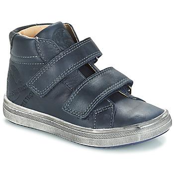 Sapatos Rapaz Sapatilhas de cano-alto GBB NAZAIRE Azul