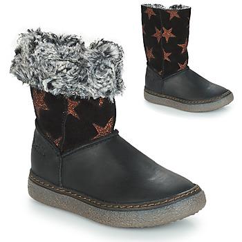 Sapatos Rapariga Botas GBB DUBROVNIK Preto