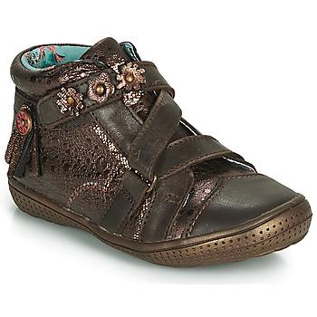 Sapatos Rapariga Botas baixas Catimini ROQUETTE Castanho-cobre
