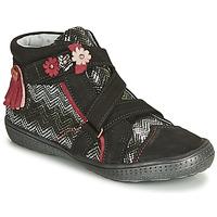 Sapatos Rapariga Botas baixas Catimini ROQUETTE Branco / multicolor