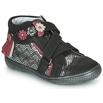 Sapatos Rapariga Botas baixas Catimini ROQUETTE Preto / Prata