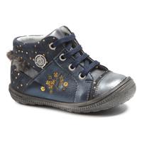 Sapatos Rapariga Botas baixas Catimini RIKI Marinho - pintas / Dourado
