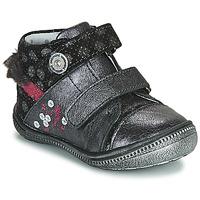 Sapatos Rapariga Botas baixas Catimini ROSSIGNOL Cinza / Prata