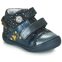 Sapatos Rapariga Botas baixas Catimini ROSSIGNOL Marinho / Ouro