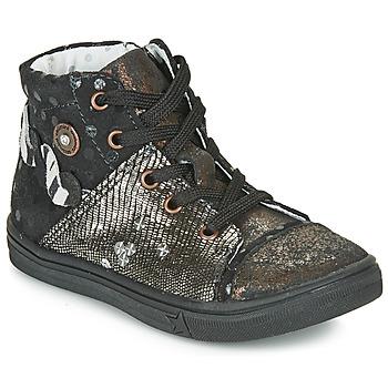 Sapatos Rapariga Botas Catimini ROUSSEROLLE Preto - cobre