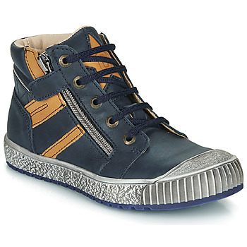 Sapatos Rapaz Botas baixas Catimini RAMBOUTAN Azul