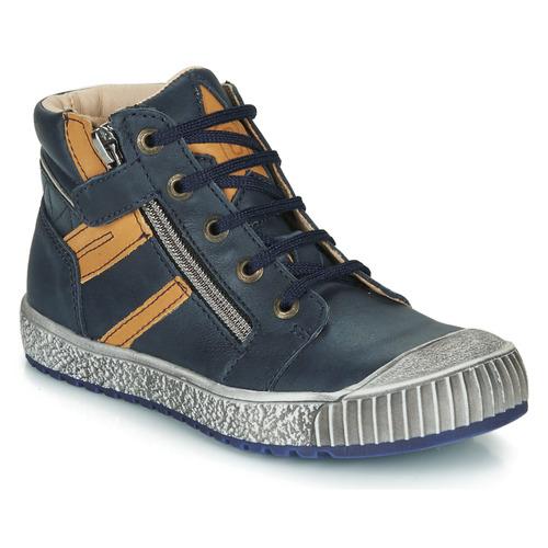 Sapatos Rapaz Sapatilhas de cano-alto Catimini RAMBOUTAN Marinho