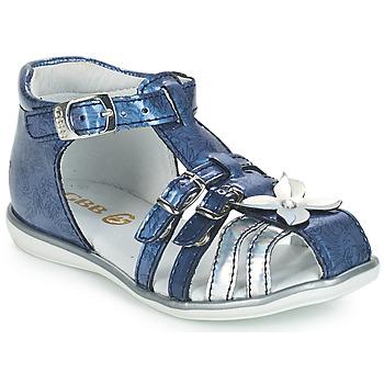 Sapatos Rapariga Sandálias GBB SHANICE Azul - estampado