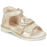 Sapatos Rapariga Sandálias GBB SYLVIE Dourado