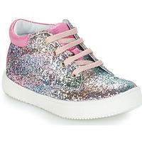 Sapatos Rapariga Botas baixas GBB SACHA Rosa / Multicolor