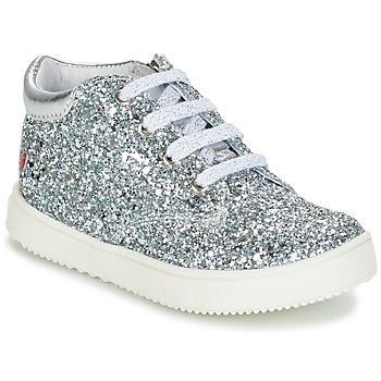 Sapatos Rapariga Botas baixas GBB SACHA Prata