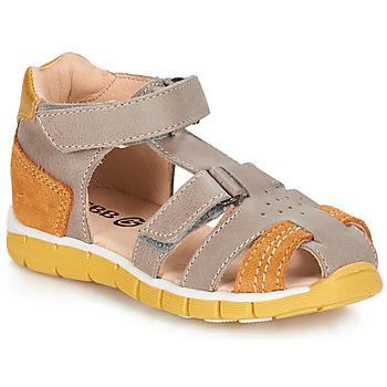 Sapatos Rapaz Sandálias GBB SPARTACO Toupeira