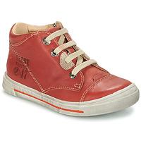 Sapatos Rapaz Botas baixas GBB SYLVAIN Vermelho