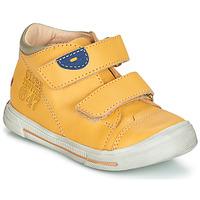 Sapatos Rapaz Botas baixas GBB SAMY Amarelo