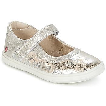 Sapatos Rapariga Sabrinas GBB PLACIDA Bege / Prateado