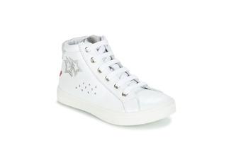 Sapatos Rapariga Botas baixas GBB SERAPHINE Branco-prateado